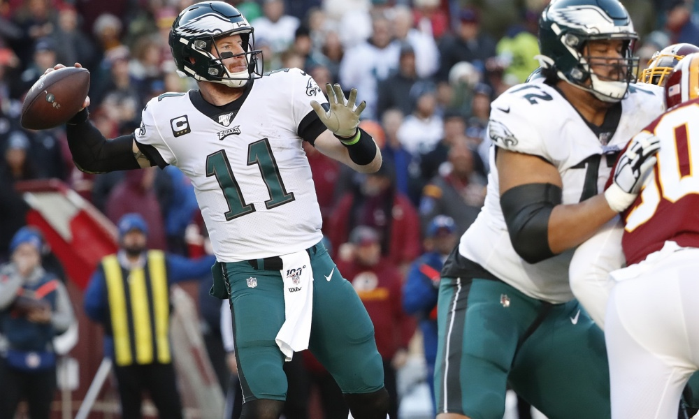 NFL – Every Throw From Carson Wentz on the Eagles Game Winning Drive against the Redskins